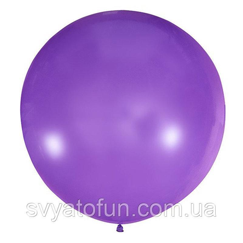 """Латексный шарик 36"""" декоратор Violet 056 (фиолетовый) 1шт Мексика"""