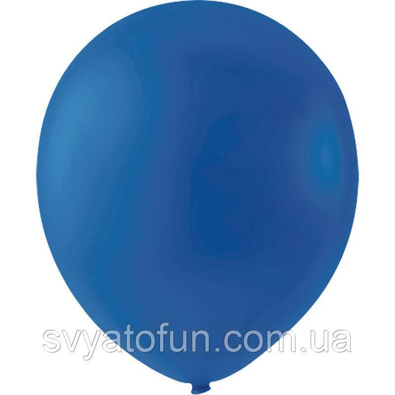 """Латексные шарики 5"""" декоратор Royal Blue 044 (королевский синий) 100шт/уп Мексика"""