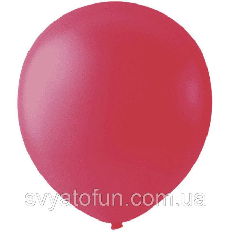 """Латексные шарики 5"""" металлик Pink 037 (розовый) 100шт/уп Мексика"""