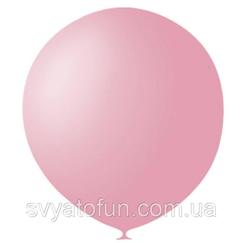 """Латексные шарики 5"""" пастель Pink 007 (розовый) 100шт/уп Мексика"""