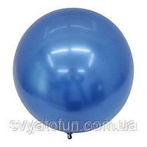 "Надувной круглый шар Bubbles BL, без рисунка 18""(45 см) синий Китай"