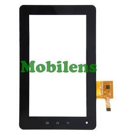 GoClever Tab A73, Texet TM-7025, Fly IQ310 Тачскрин (сенсор) черный