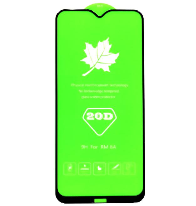 Защитное стекло 20D Xiaomi redmi 8 / 8A полная проклейка 9H захисне скло ксиоми