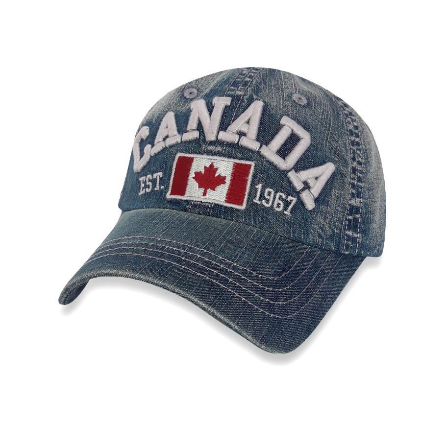 Кепка Canada, голубой