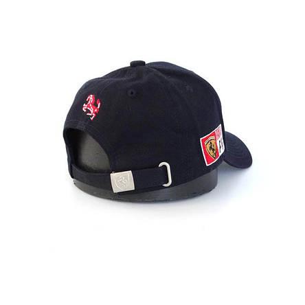 Бейсболка логотип авто Феррари, синий, фото 2