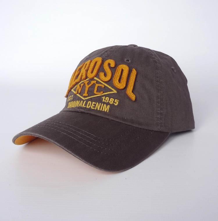 Стильная бейсболка Aerosol, коричневый