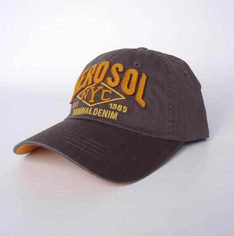 Стильная бейсболка Aerosol, коричневый, фото 2