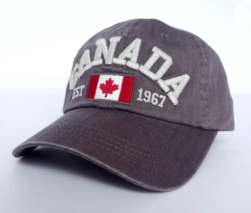 Мужская бейсболка Canada, коричневый
