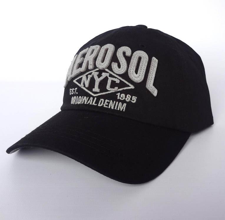 Бейсболка Aerosol, черный