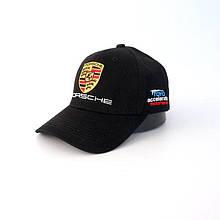 Порше кепка, чорний