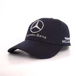 Кепка с логотипом Мерседес Бенц, черный, фото 2