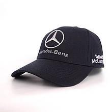 Кепка з логотипом Мерседес Бенц, чорний
