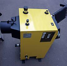 Твердотопливный котел длительного горения KRONAS EKO PLUS 12 кВт электронное управление Кронас Эко, фото 2