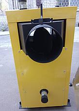 Твердотопливный котел длительного горения KRONAS EKO PLUS 12 кВт электронное управление Кронас Эко, фото 3