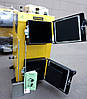 Твердотопливный котел длительного горения KRONAS EKO PLUS 12 кВт электронное управление Кронас Эко, фото 4