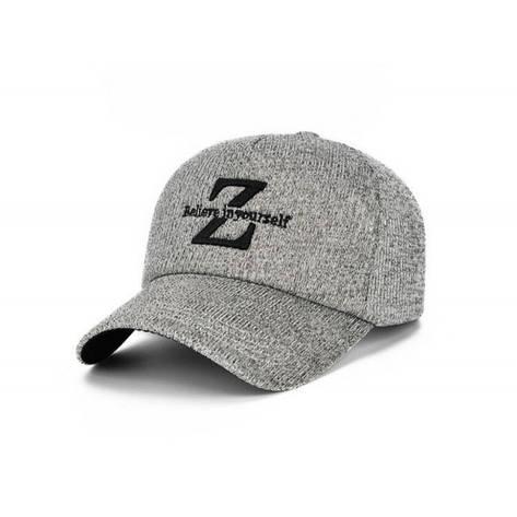 Мужская осенняя кепка, серый, фото 2