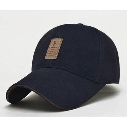 Стильная мужская кепка, синий, фото 2