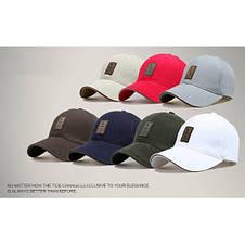 Стильная мужская кепка, синий, фото 3