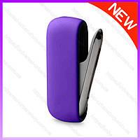 Чехол для Iqos 3 Duo Фиолетовый  - силиконовый чехол для iqos 3.0. Защитный чехол для айкос IQOS 3/Дуо