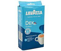 Кофе Lavazza Dek молотый без кофеина 250 г