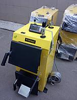 Инновационный котел на твердом топливе KRONAS EKO PLUS 16 кВт с электронным управлением Кронас Эко
