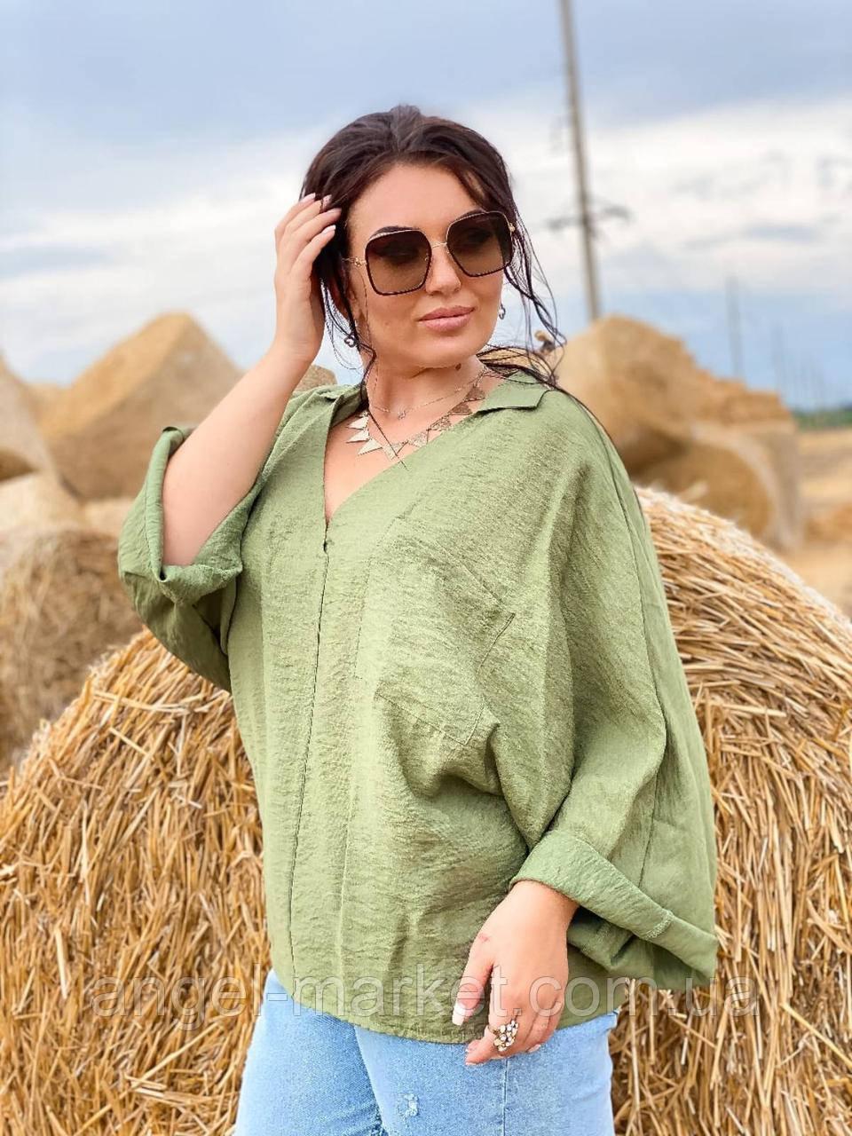 Блуза женская  норма и батал.Новинка 2020
