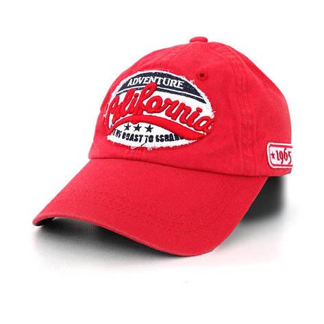 Мужская кепка California, красный, фото 2