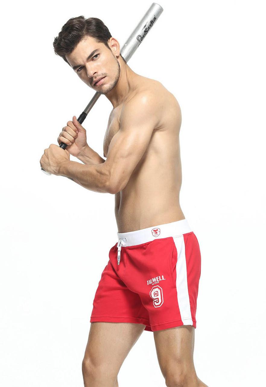 Красные шорты для мужчин Tauwell