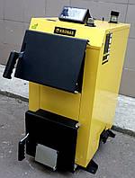 Экономный котел на твердом топливе KRONAS EKO PLUS 24 кВт с электронным управлением Кронас Эко
