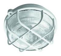 Светильник НПП белый/круг 100W IP44 OKRAGLA