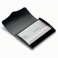 Визитница для своих визиток черная Philippi Noir Ph 142003