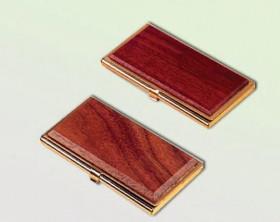 Бокс для визиток 1327 WDM красное дерево