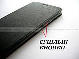 Умный черный чехол для Xiaomi Mi max 3 Black, чехол книжка Mofi, фото 5