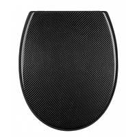 Крышка для унитаза черная Carbon AWD Interior 02181451