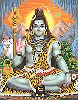 Бог Шива Схема вишивки бісером