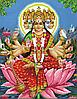 Багатолика Богиня Гаятри Схема вишивки бісером