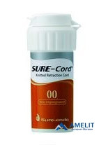Нить ретракционная Шур-Корд, №00(Sure-Cord, Shure-Endo), без пропитки, 1шт.