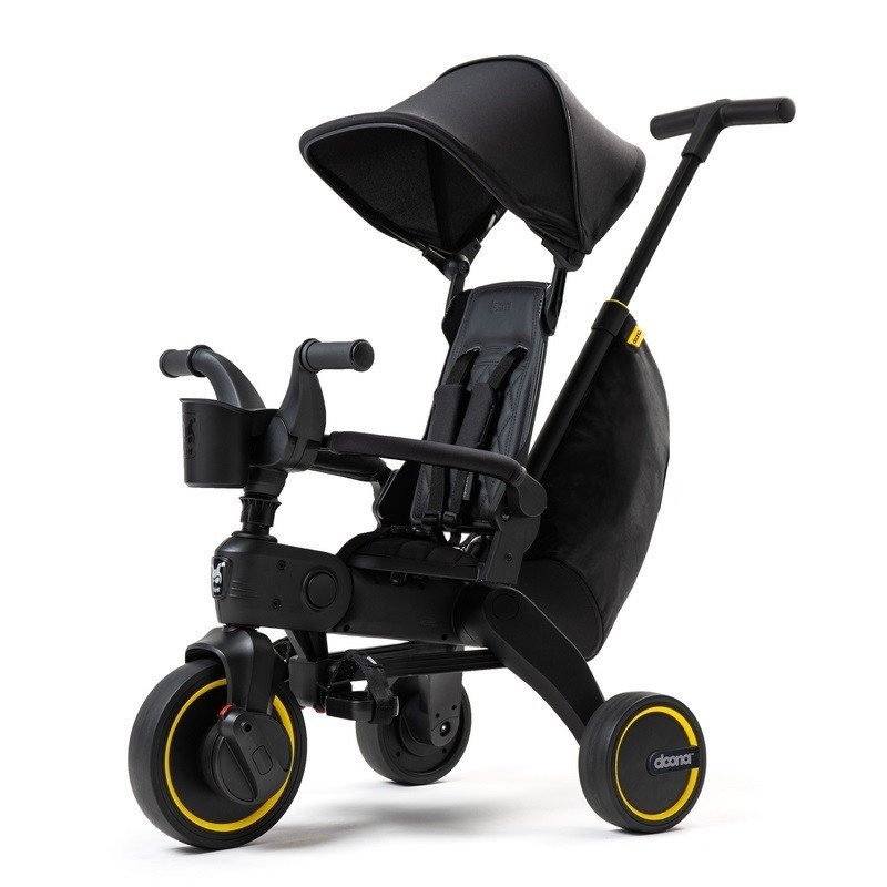 Велосипед трехколесный складной Midnight Doona Liki Trike черный