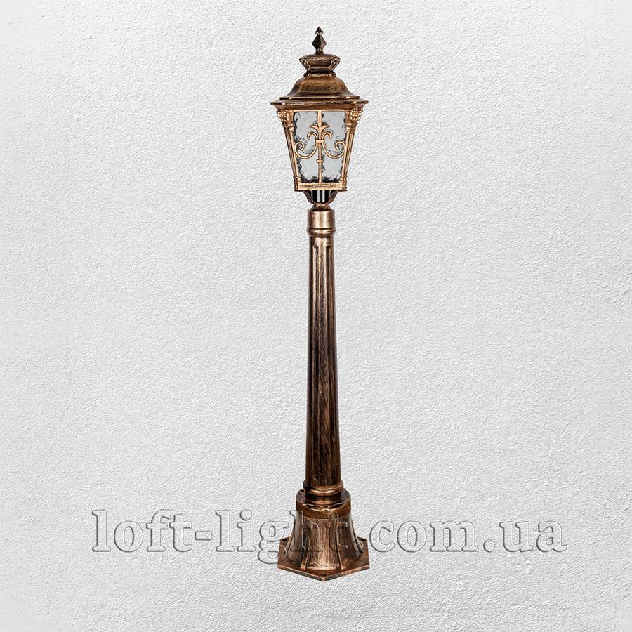 Садовый парковый столбик фонарь  модель  67-V3210-LL AB