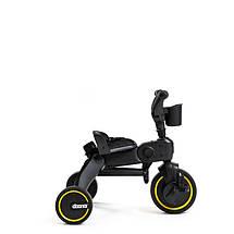 Велосипед трехколесный складной Midnight Doona Liki Trike черный, фото 3