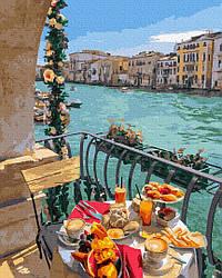 Картины по номерам - Сніданок у Венеції