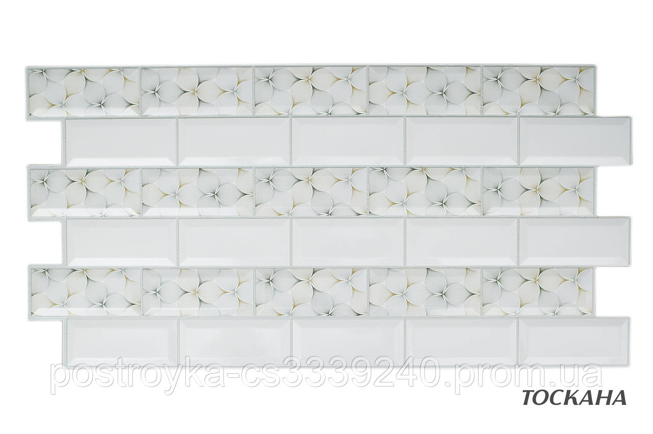 Декоративные Панели ПВХ мозаика Тоскана