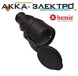 Розетка каучуковая переносная 220В 16А BEMIS (BK1-1402-2311), фото 2