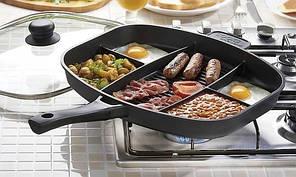 Сковорода універсальна Magic Pan на 5 відділень, фото 2