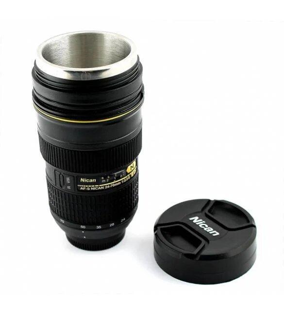 Чашка - термос обьектив Nican