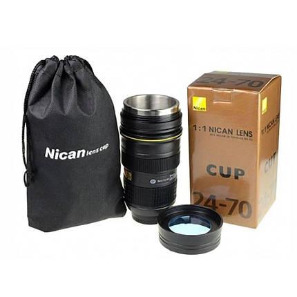 Чашка - термос обьектив Nican, фото 2