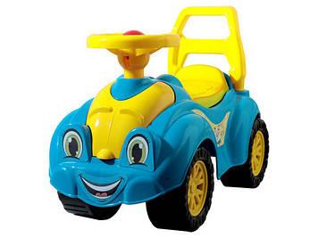 """Машина каталка - толокар """"ТехноК"""" """"Патріотична"""" №3510 синьо-жовта(3)"""