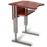 Антисколиозный аудиторный стол одноместный регулируемый по высоте, фото 1