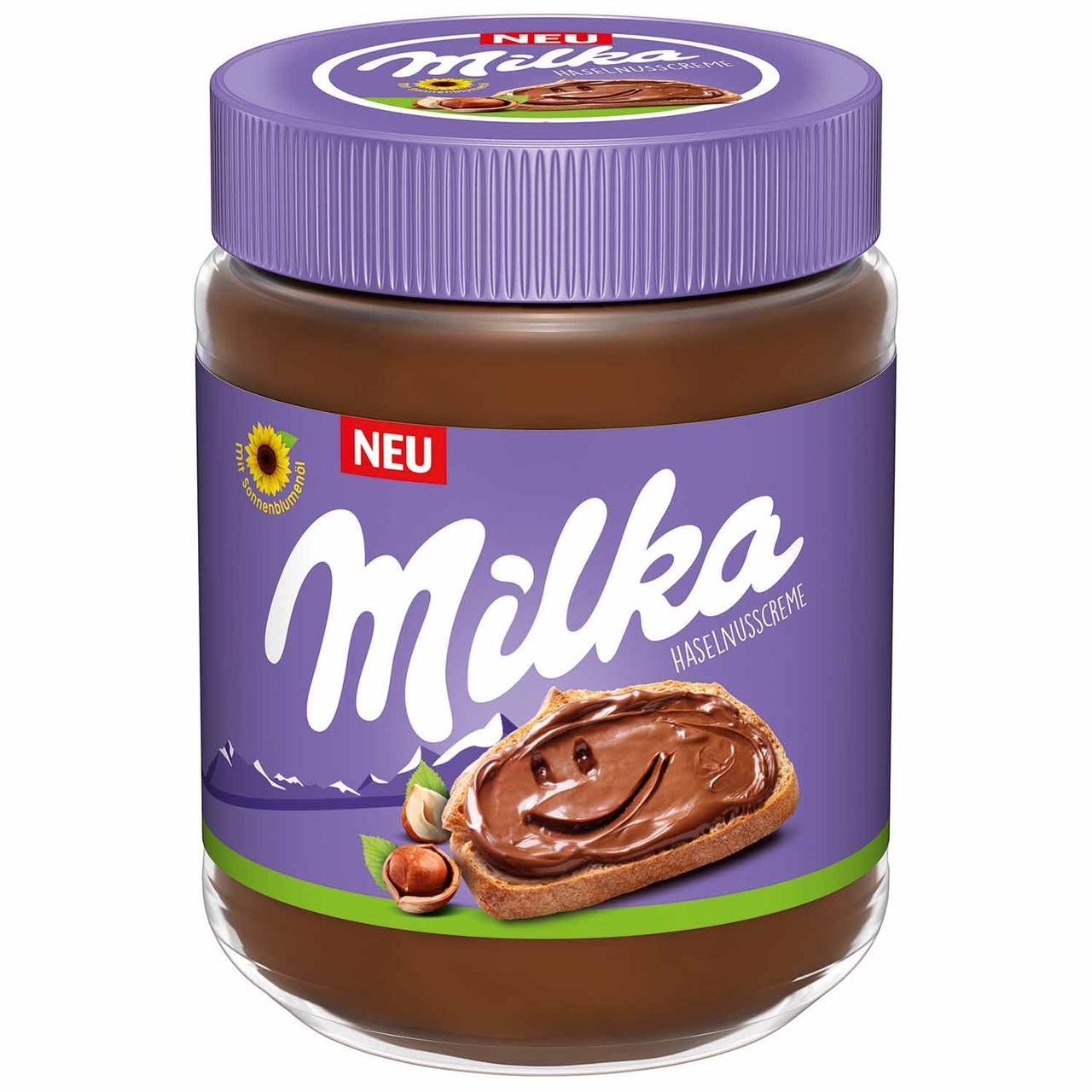 Шоколадна паста Milka Hazelnuss Creme 600 g