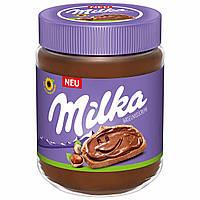 Шоколадная паста Milka Hazelnuss Creme 600 g